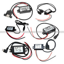 Mini/Micro/A type Single USB Converter Step Down Power DC-DC 12V to 5V Module