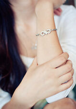Korean Kpop Band Infinite Infinity Logo Symbol Titanium Steel Bracelet