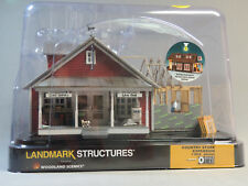 WOODLAND SCENICS O SCALE COUNTRY STORE EXPANSION BUILT & READY o gauge 5845 NEW