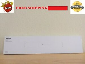 BRAND NEW Apple Watch GENUINE Sport Band White Stainless Steel Pin 42mm (SEALED)