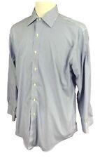 Brooks Brothers Regular Fit Non Iron Men's Shirt Blue Stripe Size 16-33