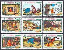 Anguilla, Sc#511-19, MNH, 1982, Disney, Christmas, Complete set, 231