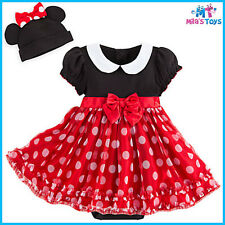 Disney Minnie Mouse Red Costume Bodysuit Set for Baby size 6-9 Months bnwt