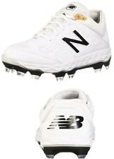 New Balance Men's 3000 V4 TPU Molded Baseball Shoe,Imported,Synthetic-Mesh,White