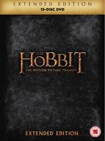 The Hobbit: Trilogy - Extended Edition DVD (2015) Martin Freeman, Jackson (DIR)