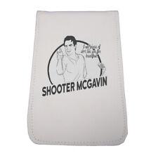 Sunfish Leather Golf Scorecard Yardage Book Holder-Happy Gilmore-Shooter McGavin