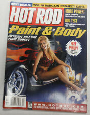Hot Rod Magazine Paint & Body Top 10 Bargain Projects April 2002 NO ML 070915R