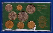 Complete set of Yugoslav, 8 coins, 5 Dinara 1977, LOW MINTAGE KEY DATE, RARR !