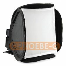 mini Soft Box Kit Softbox for Canon Nikon Pentax Olympus Flash Speedlite