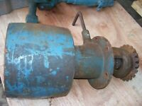 VINTAGE FORDSON  MAJOR DIESEL TRACTOR -BELT PULLEY & DRIVE -AS - IS -1954 ?
