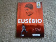 Panini Prizm World cup 2014 Eusebio Case hit SSP Portugal