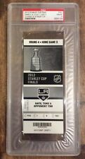 LOS ANGELES KINGS 2012 STANLEY CUP CLINCHING GAME 6 TICKET STUB PSA GEM MINT 10