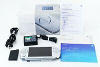 Sony PSP 3000 Launch Edition Silver Handheld System Console Japan [Excellent]