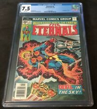 Marvel Comics THE ETERNALS #3 CGC 7.5 FIRST APPEARANCE OF SERSI