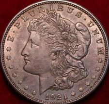1921-D Denver Mint Silver Morgan Dollar