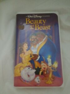 Disney Black Diamond Classic Beauty and the Beast (VHS)