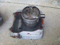OEM FACTORY 82-88 Suzuki GN250 GN 250 Standard Bore Cylinder & Piston w/ Rings