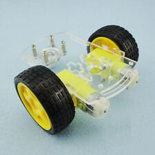 New Mini 2WD Single-Deck Smart Robot Car Chassis DIY Kit for Arduino 1 Set