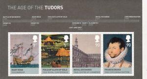 2009 The Age of the Tudors Miniature Sheet MNH