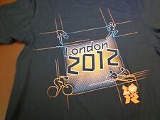 Official London 2012 Olympics  Graphic T Shirt Black Short Sleeve  Large   F39