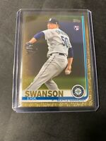 Erik Swanson   2019 Topps Update Gold RC  /2019  #US97  Mariners