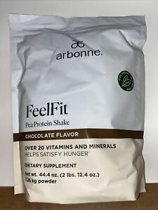Arbonne Feelfit pea protein Shake Chocolate Flavor - 30 dayService - New Sealed