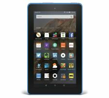 Amazon Fire 7 Inch Display Wi-Fi 16 GB Tablet - Blue