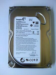 "Seagate 3.5"" SATA  500GB Hard Disk ST3500411SV 7200RPM"