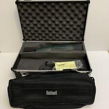 Bushnell Trophy 20-60x65mm Straight Waterproof Spotting Scope Green W/ Extras