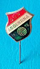 FIFA FOOTBALL SOCCER WORLD CUP ARGENTINA 78 - SNP Yugoslavian made pin badge