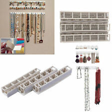 1Set Jewelry Necklace Earring Organizer Wall Hanging Display Stand Rack Holder