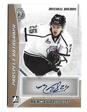 2016-17 Leaf ITG Heroes & Prospects Mitchell Balmas Bronze Auto RC Olympiques