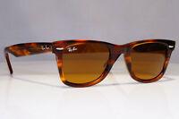 RAY-BAN Mens Womens Designer Sunglasses Brown Wayfarer HAVANA RB 2140 954 24242