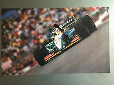 1996 Rubens Barrichello's Peugeot F1 Race Car Print, Picture, Poster RARE!!