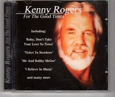 (HG915) Kenny Rogers, For The Good Times - 2001 CD