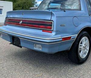 Buick Skylark, Somerset:1986 - 1991, Right Rear Marker With Light Blue Bezel
