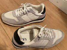 Zara Male White Trainers Size 43