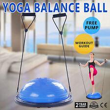 23 Balance Yoga Trainer Ball Kit W/ Pump Strength Healthy Bands Blue