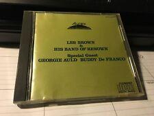 LES BROWN & HIS BAND Aurex Jazz Festival Live '83 Japan Import CD BLACK TRIANGLE