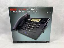 NEW RCA 25201 25201RE1 ViSYS Standard Phone - Black 2 x Line Speakerphone