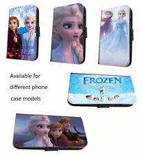 Frozen phone case Elsa Frozen 2 movie inspired leather wallet flip mobile case