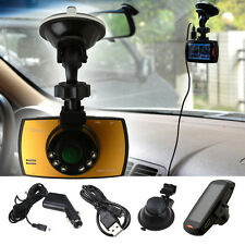 "Full HD 1080P Car Camera Dash Cam Vehicle DVR 2.7"" LCD Night Vision G-sensor"