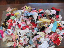 200+ Pieces Lot of Small Doll Clothing Vintage Assorted Dress Pants Barbie (#4)