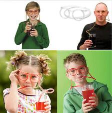 New Soft Flexible Glasses Originality Drinking Straw Boy Girl DIY Crazy Tube CAD