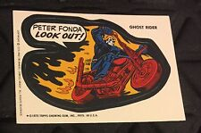 GHOST RIDER Marvel Comics Super Hero STICKER 1974/1975 Topps
