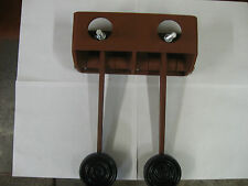 REVERSED BRAKE&CLUTCH MASTER CYL. MOUNT&PEDALS  HOT ROD RAT ROD T-BUCKET