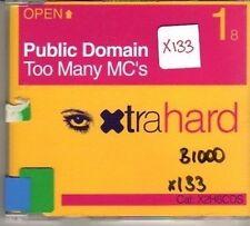 (CO731) Public Domain, Too Many MC's - 2001 CD