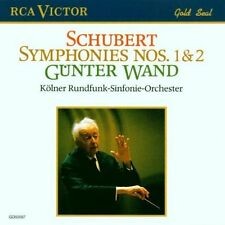 Schubert Symphonies 1 & 2 Günter Wand and Cologne Symphony Orchestra