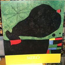 """MIRO """"MESSAGE D' UN AMI"""" LARGE COLOR POSTER"""
