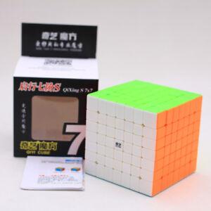QiYi QiXing S 7x7x7 Speed Magic Cube Twist Puzzle Intelligence Toys Multi-Color